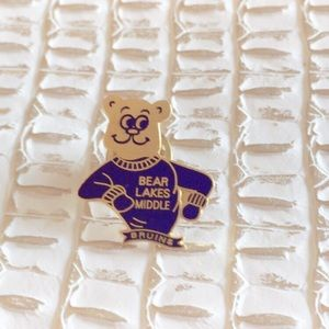 Bear Lakes Middle School Bruins Pin
